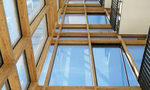 Holz-riegel-fassade